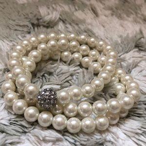 Pearl Bracelets - Set of 3